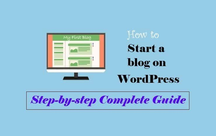 How to start a WordPress Blog --