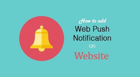 Web Push Notification ko Blog par kaise add kare