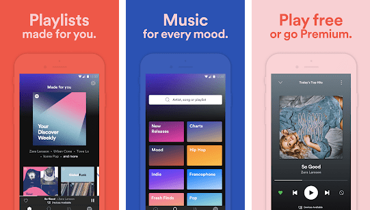Spotify Music and Podcast - best music streaming apps